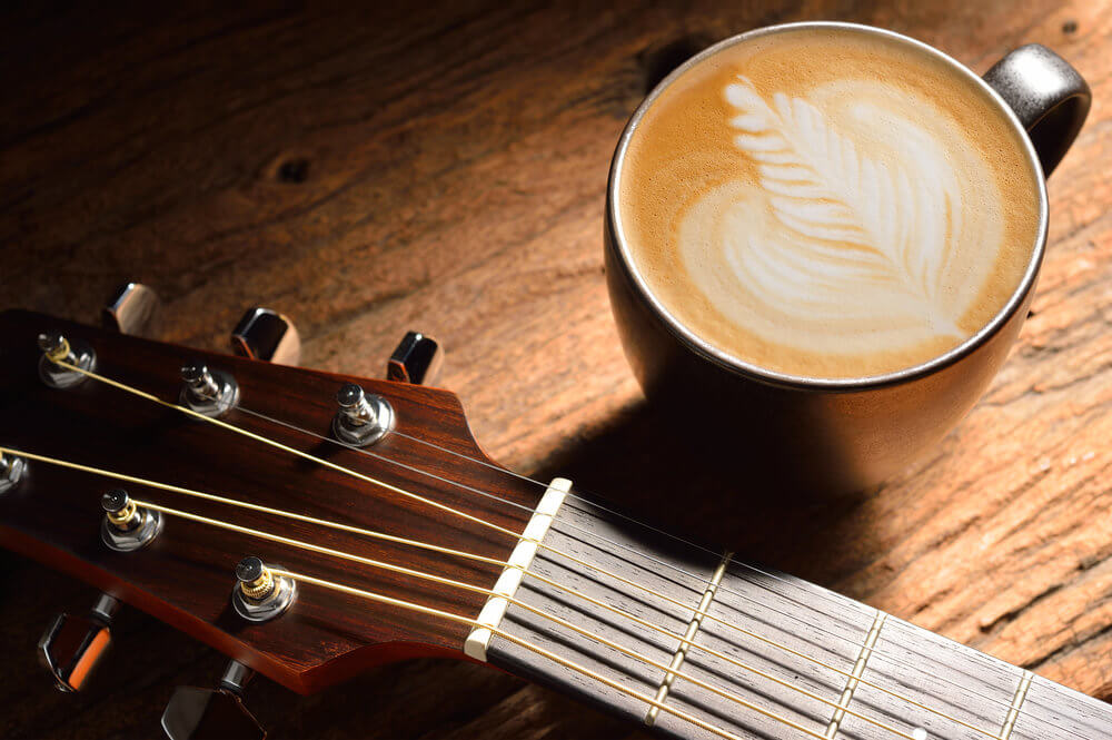 Coffee Guitar